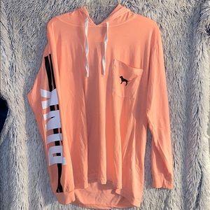 Ladies VS/ PINK Long Sleeve Pullover